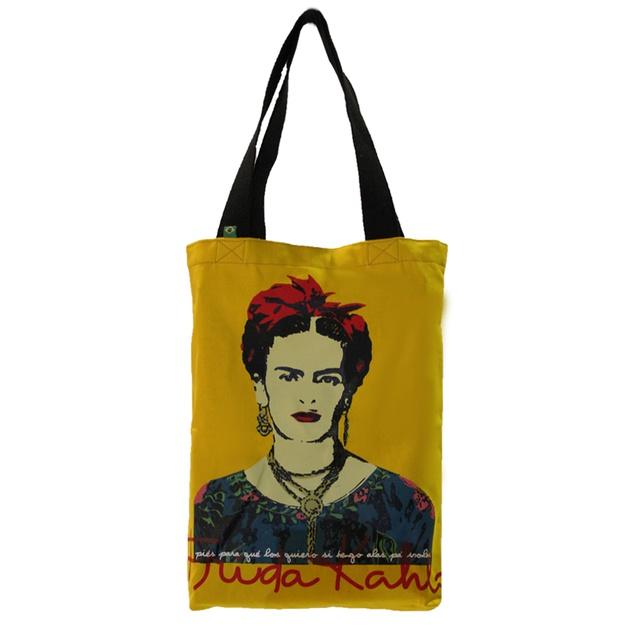 Bolsa Frida Kahlo P Amarela