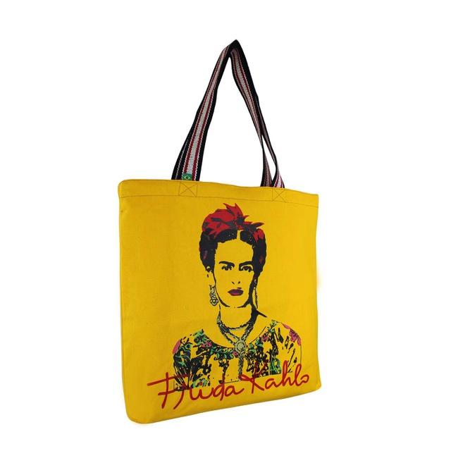 Bolsa Frida Kahlo Olhos Amarela