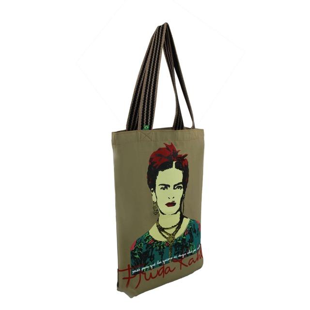 Bolsa Frida Kahlo Piés Cru