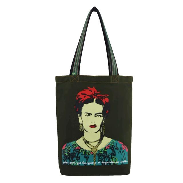 Bolsa Frida Kahlo Musgo