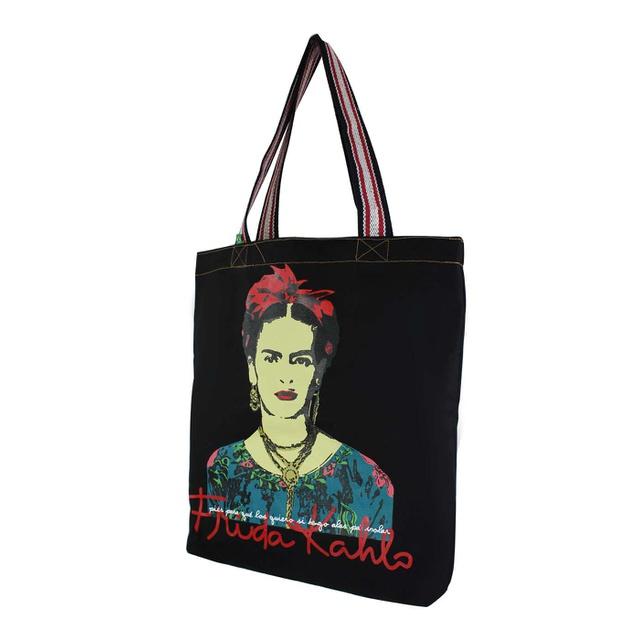 Bolsa Frida Kahlo Píes G Preta