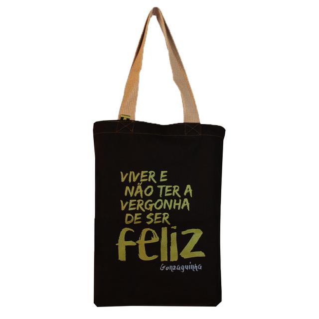 Bolsa Gonzaguinha Preta