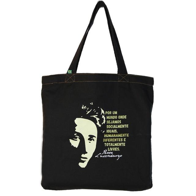 Bolsa Rosa Luxemburgo G Preta
