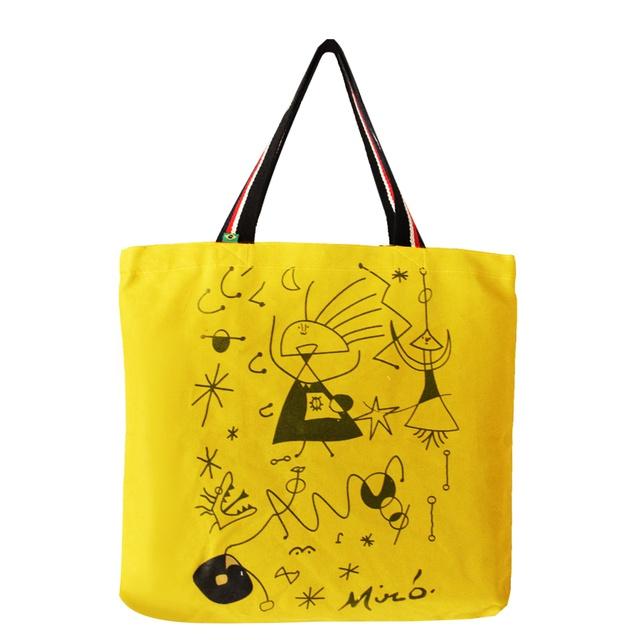 Bolsa Miró G Amarela