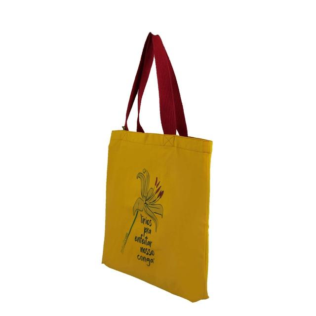 Bolsa Oxum Lírios Amarela