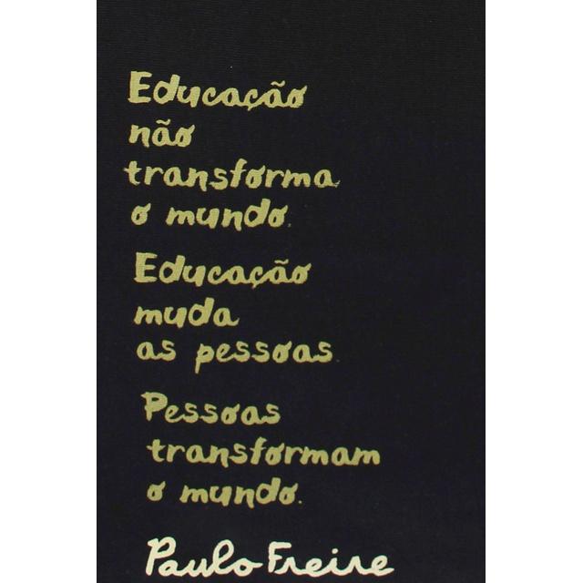 Bolsa Paulo Freire Preta