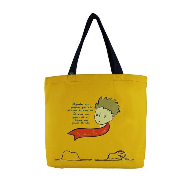 Bolsa Pequeno Príncipe Amarela