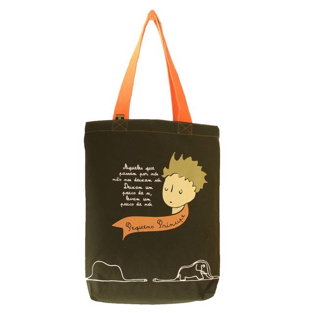 Bolsa Pequeno Príncipe Musgo