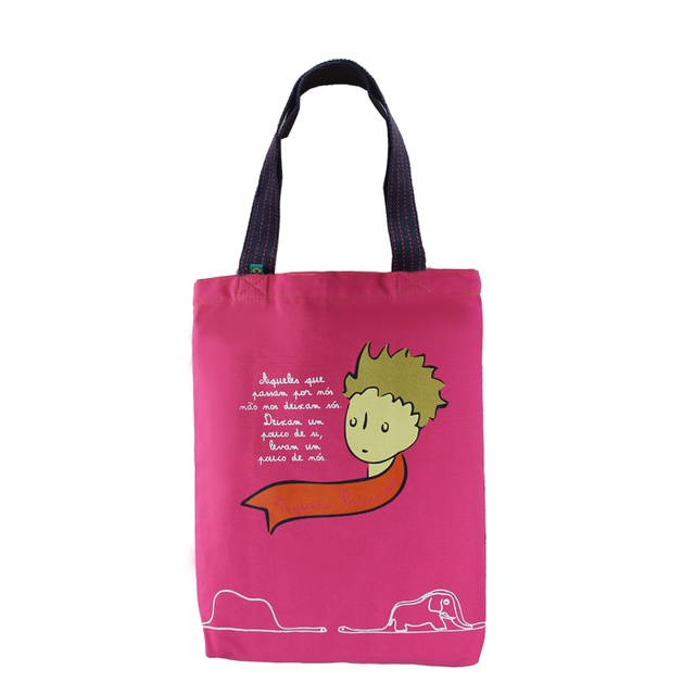 Bolsa Pequeno Príncipe Rosa