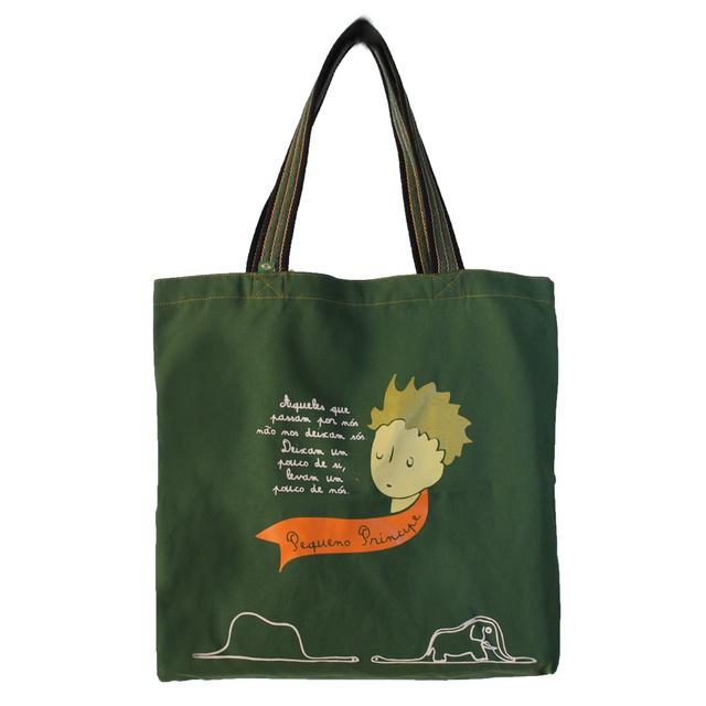 Bolsa Pequeno Príncipe Verde