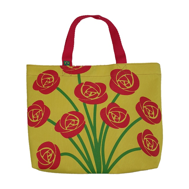 Book Bag Cora Coralina Amarela