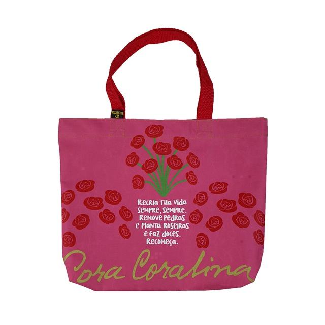 Book Bag Cora Coralina Rosa