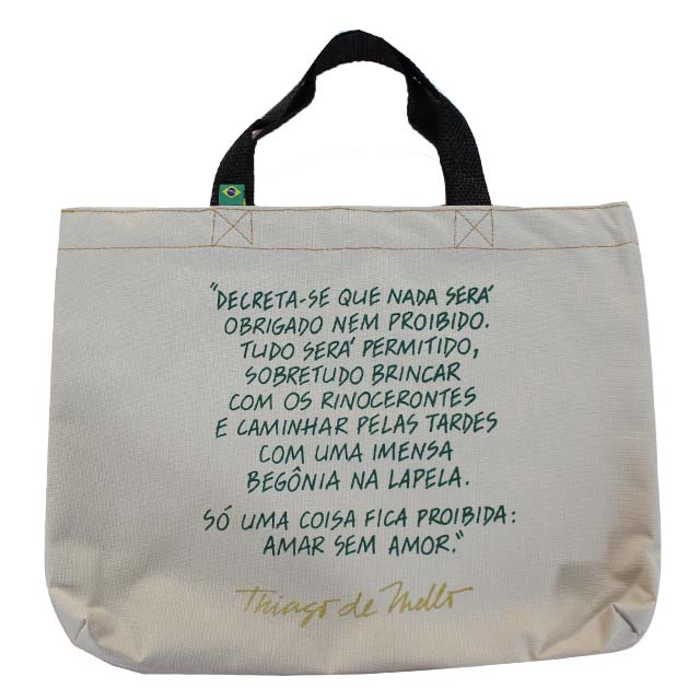 Book Bag Thiago de Mello