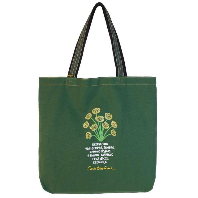 Bolsa Cora Coralina Recria Verde