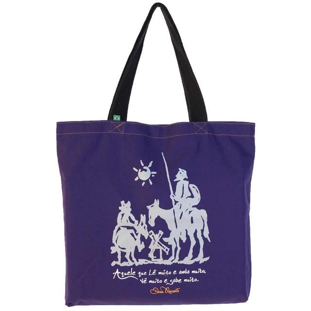 Bolsa Dom Quixote Roxa