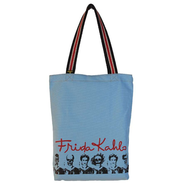 Bolsa Frida Kahlo Azul Claro