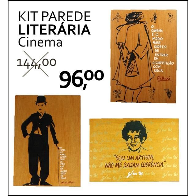 PAREDE LITERÁRIA - CINEMA
