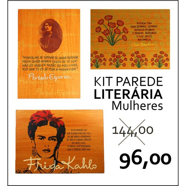 PAREDE LITERÁRIA - MULHERES