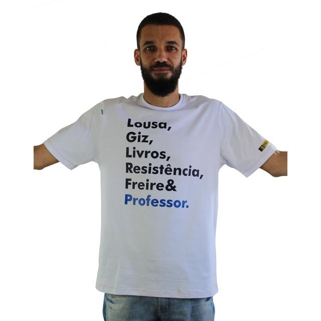 Camiseta Freire Professor Branca