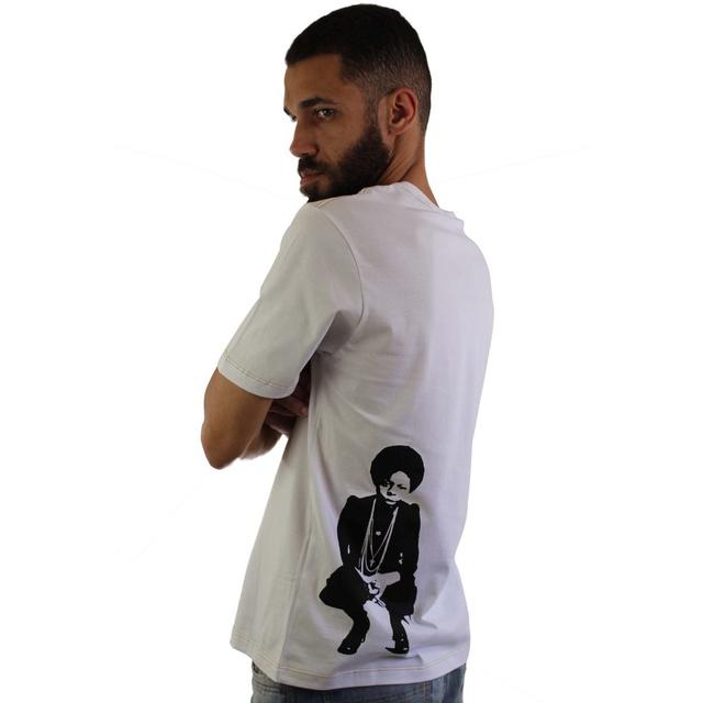 Camiseta Nina Simone Amor Branca