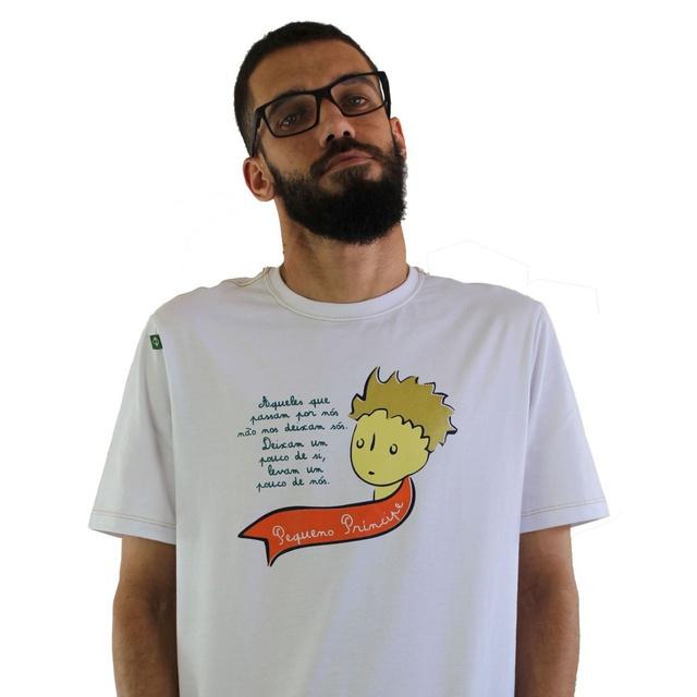 Camiseta Pequeno Príncipe Branca