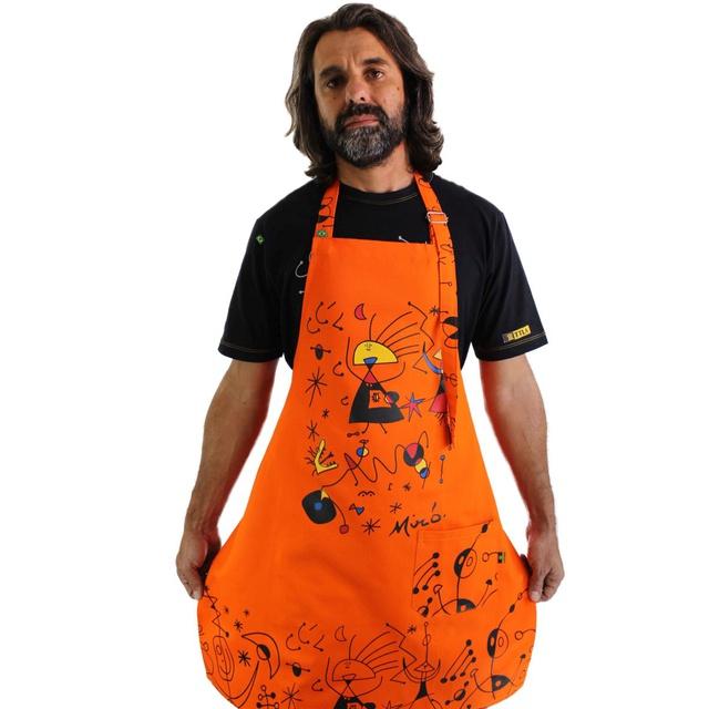 Avental Miró Laranja