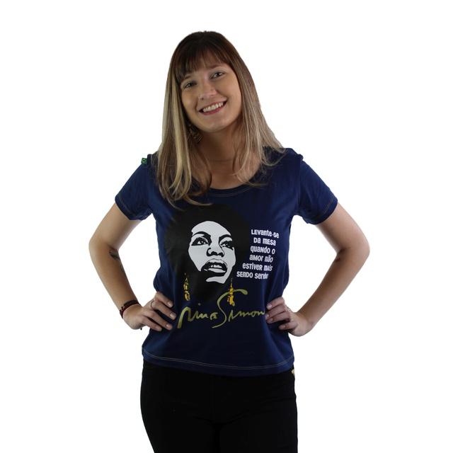 Babylook Nina Simone Amor Marinho