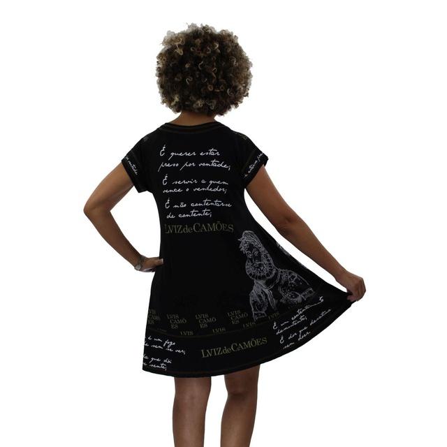 Vestido Camões Preto