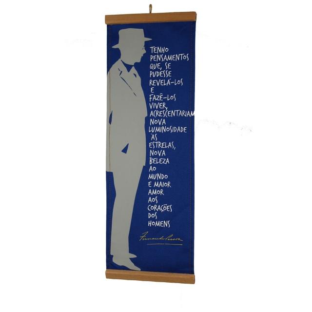 Flâmula Fernando Pessoa Azul