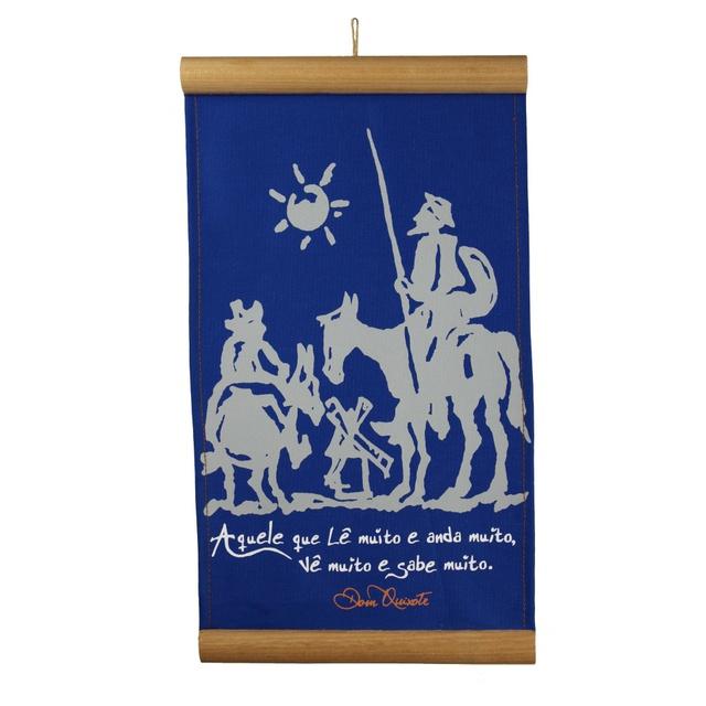 Flâmula Dom Quixote Azul