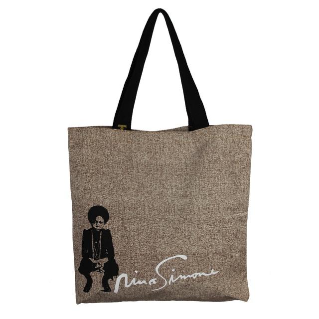 Bolsa Nina Simone Liberdade G Cru