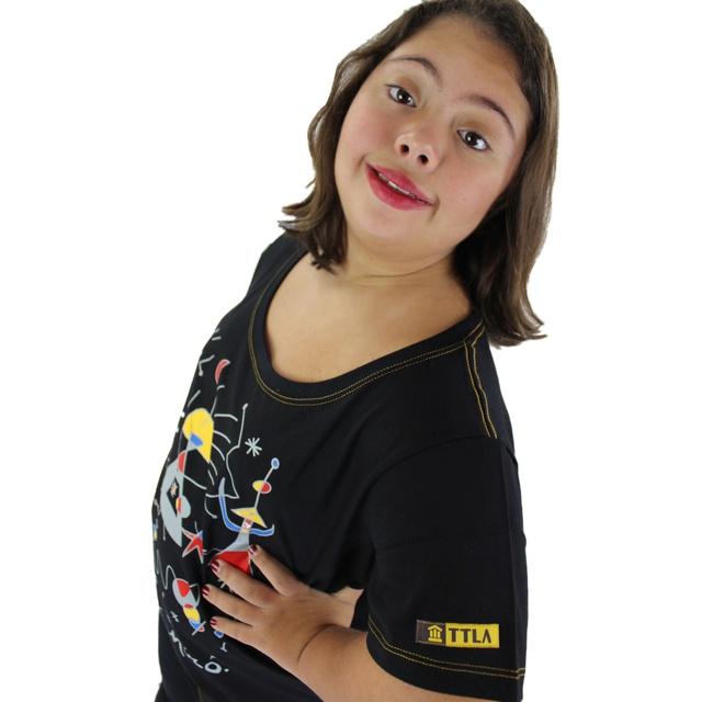 Babylook Miró Preta