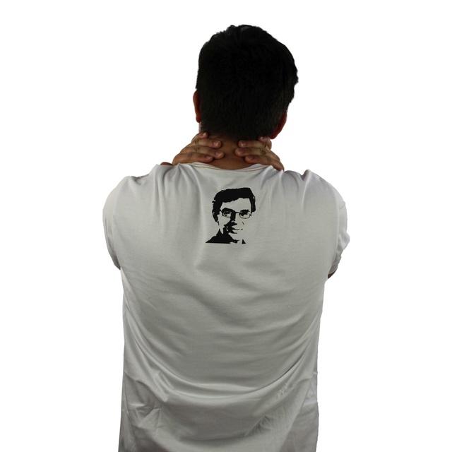 Camiseta Renato Russo Pais e Filhos Branca