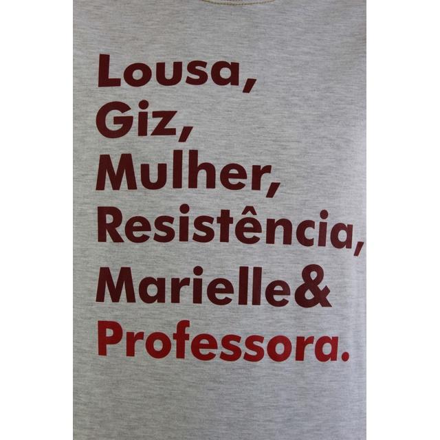 Camiseta Marielle Professora Gelo