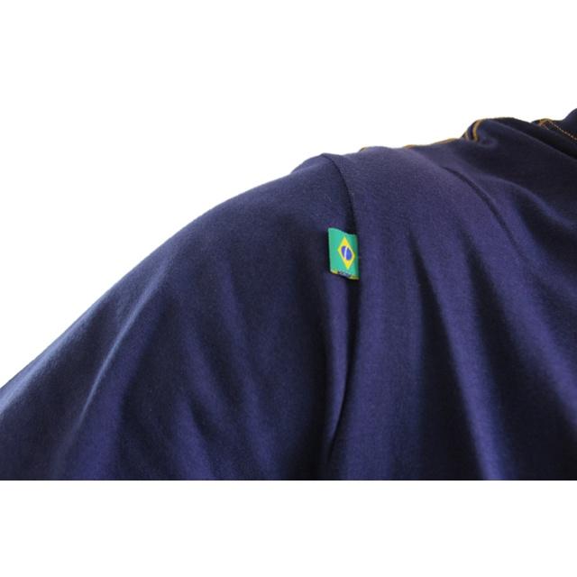 Camiseta Cora Coralina Recria Marinho