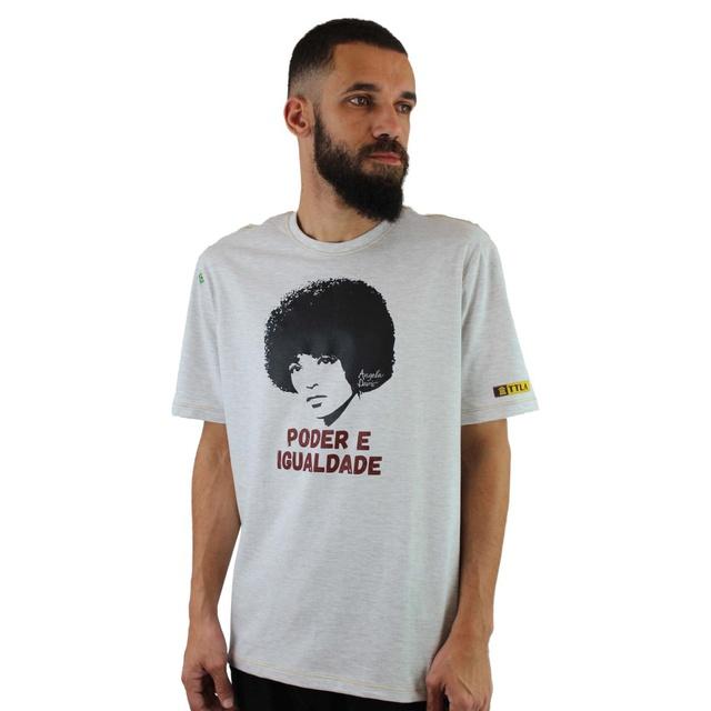 Camiseta Angela Davis Gelo