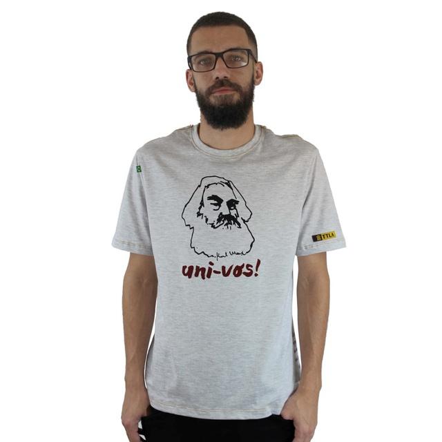 Camiseta Karl Marx Gelo