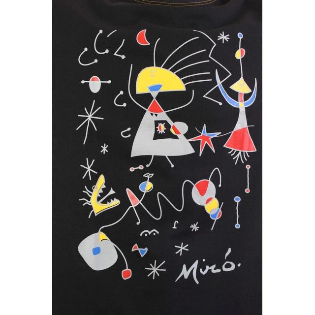 Camiseta Miró Preta