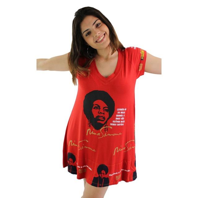 Vestido Nina Simone Vermelho