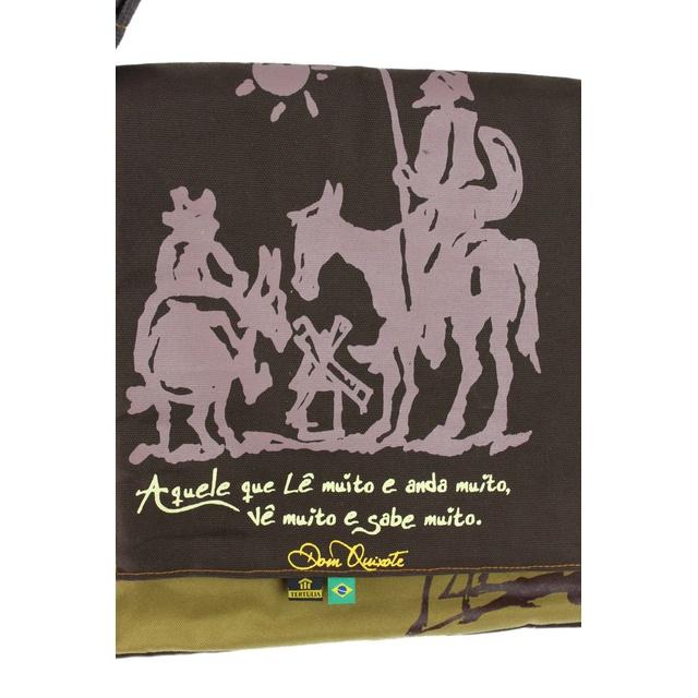 Bolsa Notebook Dom Quixote