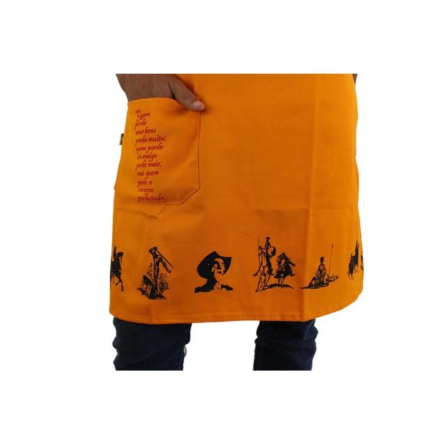 Avental Dom Quixote Amarelo