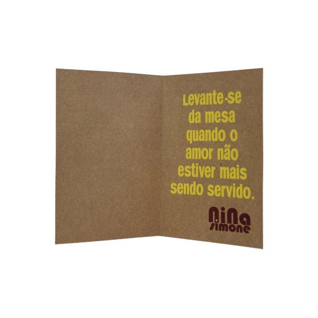 Cartão Nina Simone