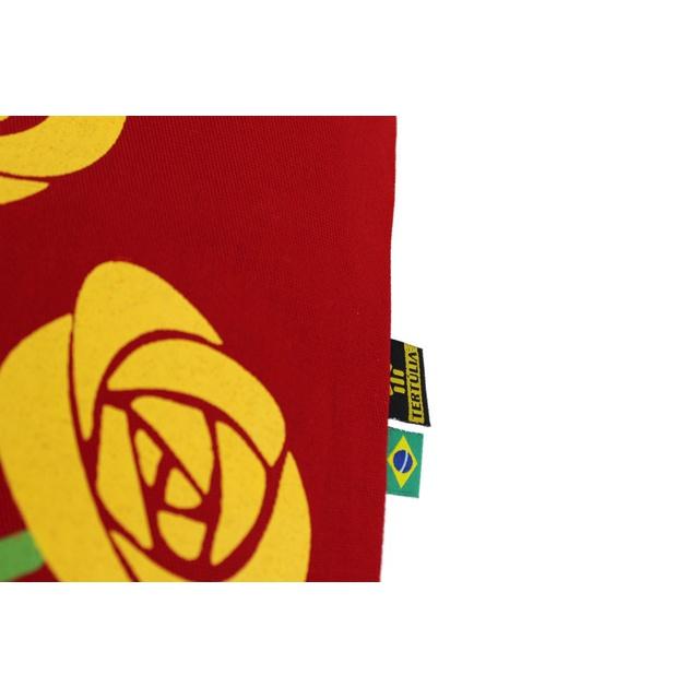 Capa de Almofada Cora Coralina Professor Vermelha