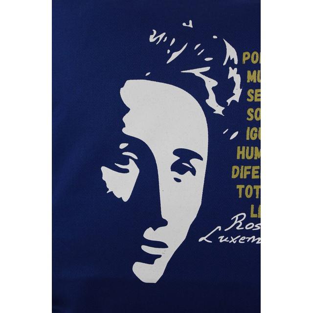 Capa de Almofada Rosa Luxemburgo Azul Royal