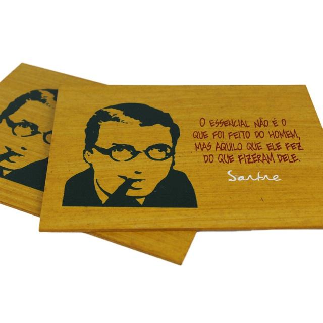 Quadrinho Sartre