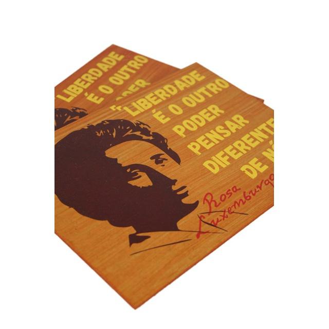 Quadrinho Rosa Luxemburgo Liberdade