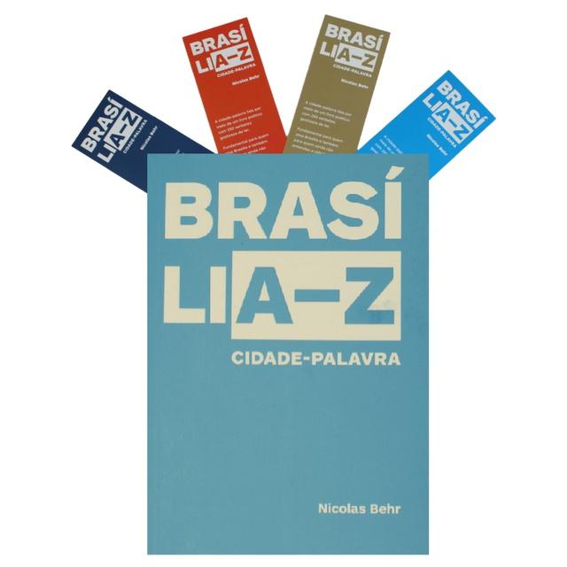 Livro BRASÍLIA-Z Cidade Palavra - Nicolas Behr