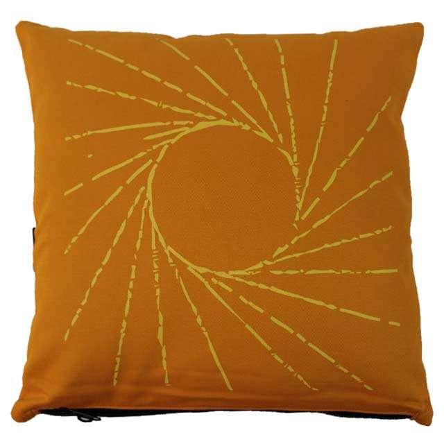 Capa de Almofada Baleia Amarela