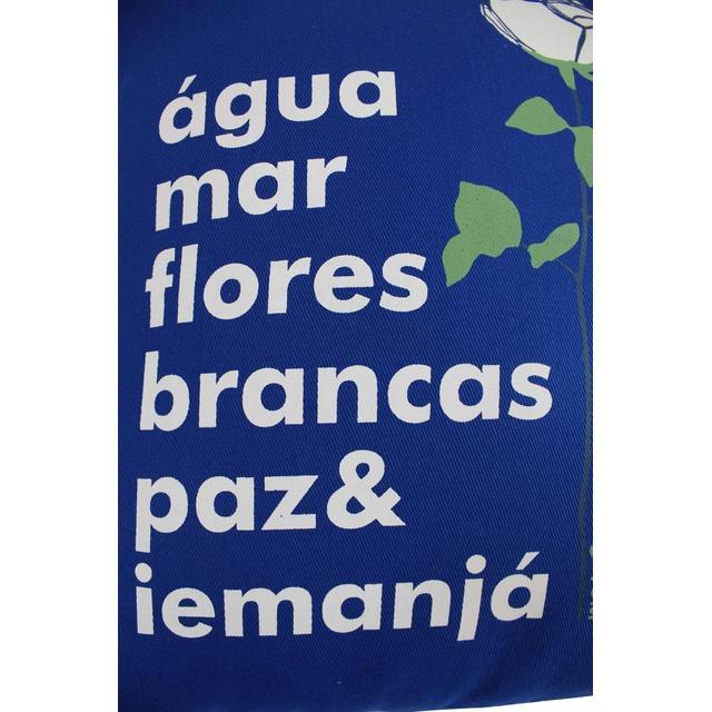 Capa de Almofada Iemanjá Azul