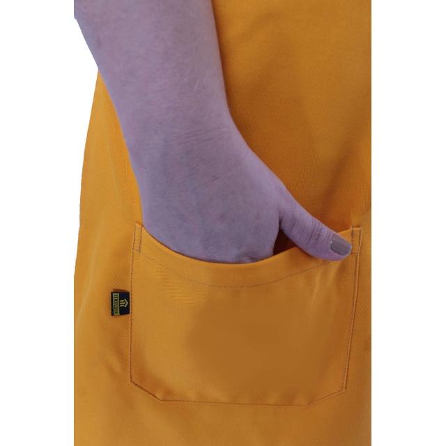 Avental Oxum Amarelo